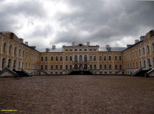 Chateau Rundales Lituanie