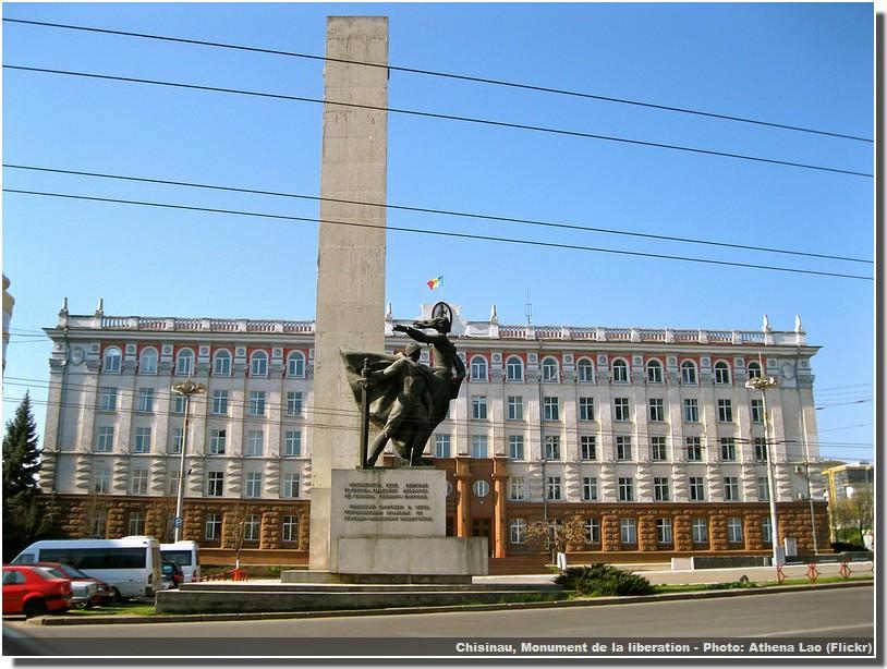 Chisinau monument de la liberation