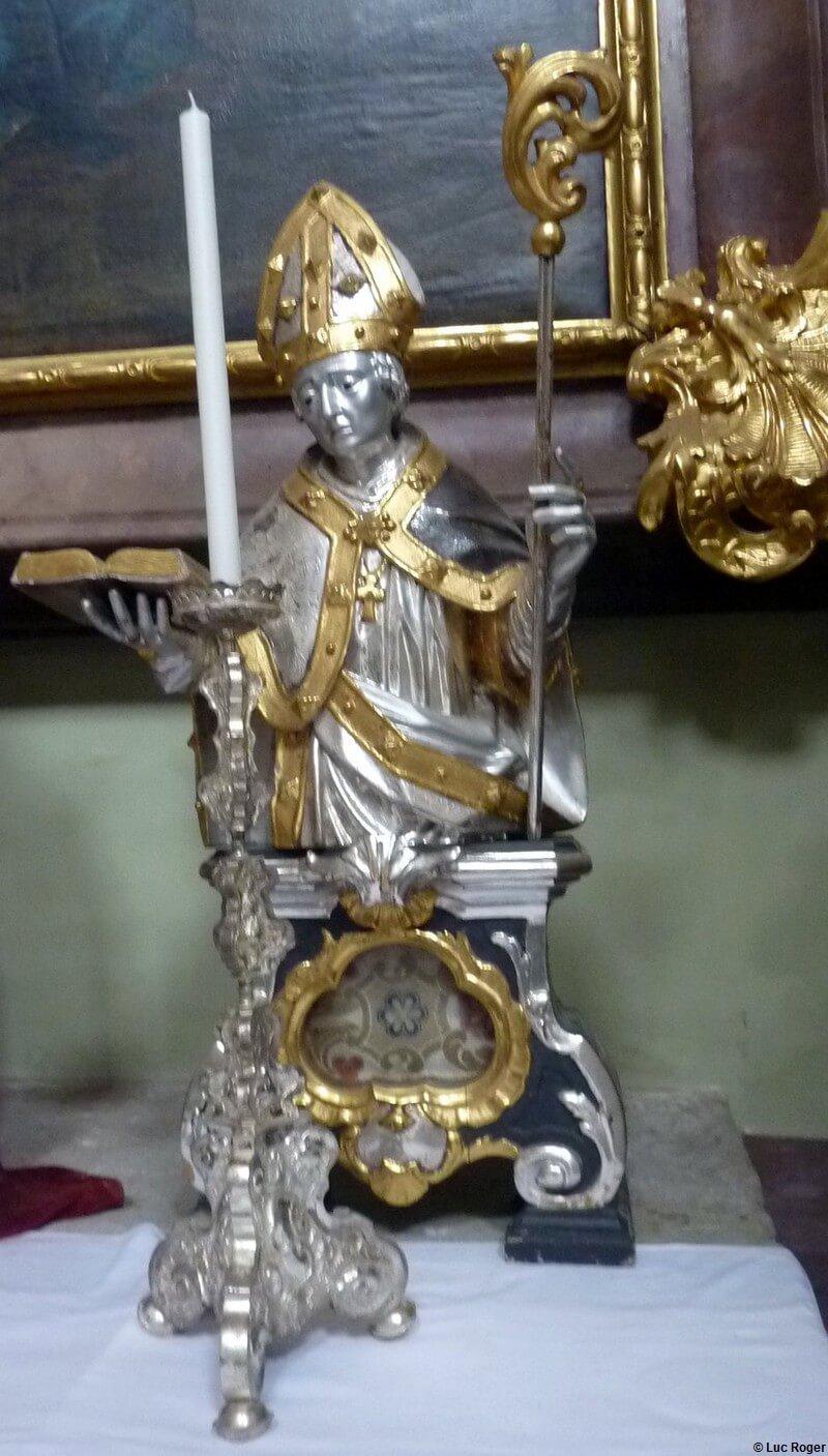 Cierge Abbaye de Rohr