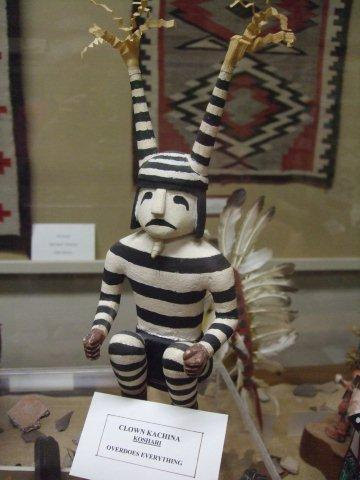 Clown Kachina Indien Hopi