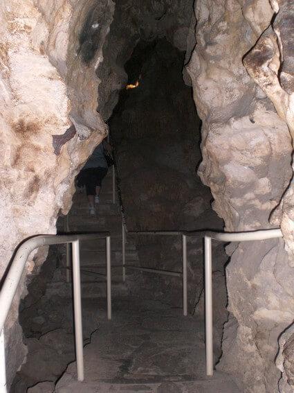 Colossal cave NP entrée de la grotte