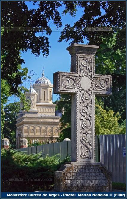 Croix Monastere Curtea de Arges