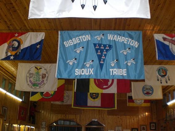 Drapeau tribu Sioux