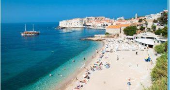 Dubrovnik plage banje