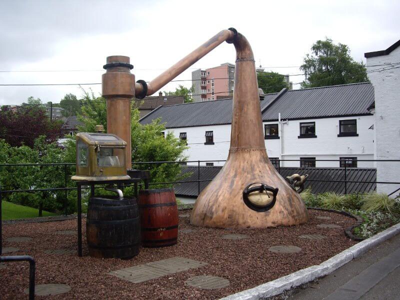 Edimbourg distillerie whisky
