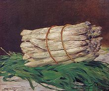 Edouard Manet bunch of Asparagus