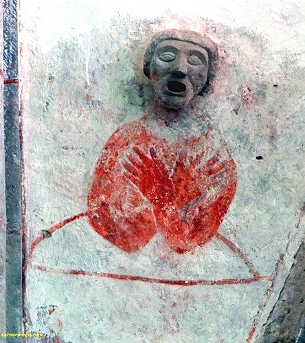 Eglise de Karja peinture et sculpture