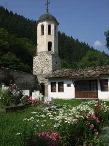 Eglise de la dormition de la vierge dans les rodhopes