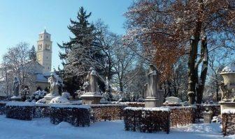 Eglise statue Westfriedhof cimetiere de l'ouest Munich