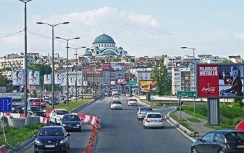 entrée de Belgrade