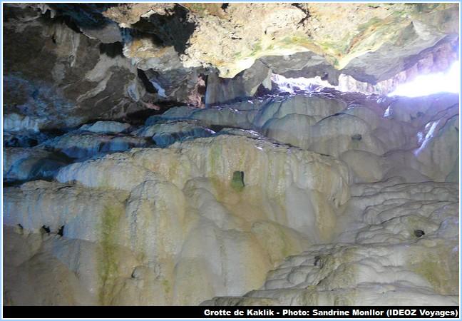 Formations grotte Kaklik en Turquie