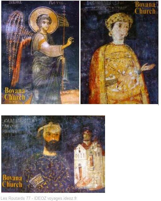 Fresques orthodoxes de l'église Boiana près de Sofia (1)