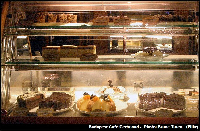 Gateaux Patisserie Gerbeaud Budapest