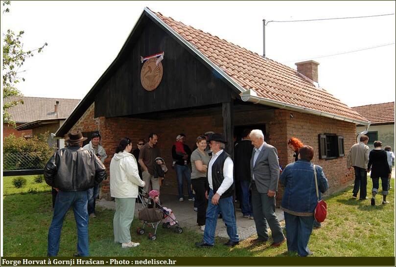 Gornji Hrascan visite à la forge Horvat