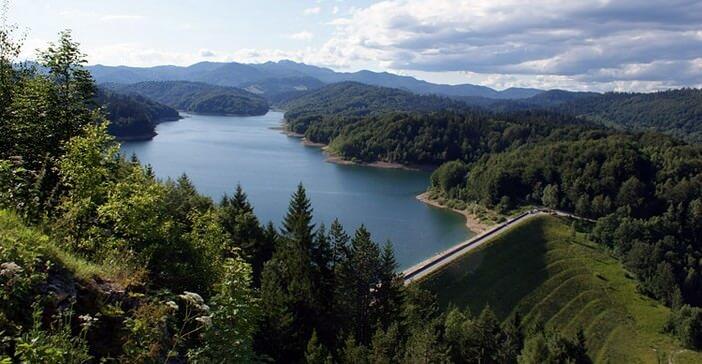 Gorski Kotar lokvarsko jezero lac de Lokve
