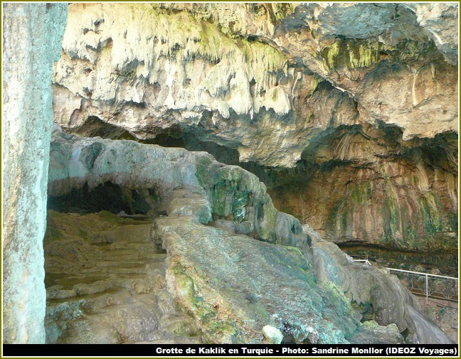 Grotte Kaklik Turquie Denizli