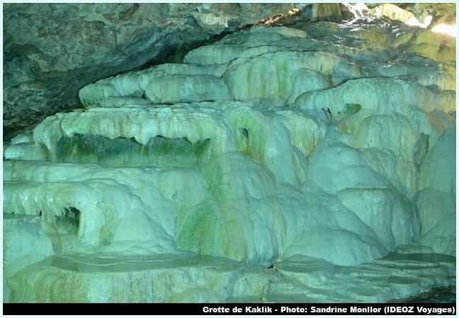 Grotte Kaklik Turquie