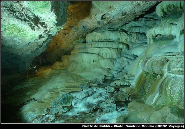 Grotte Kaklik en Turquie
