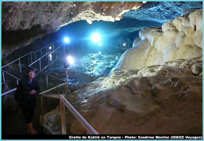 Grotte Kaklik pamukkale