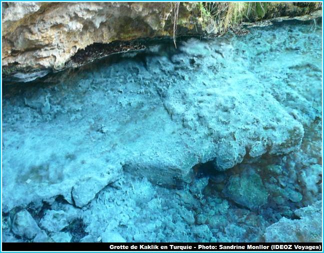 Grotte Kaklk Formations bleues