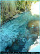 Grotte kaklk eau et vegetation