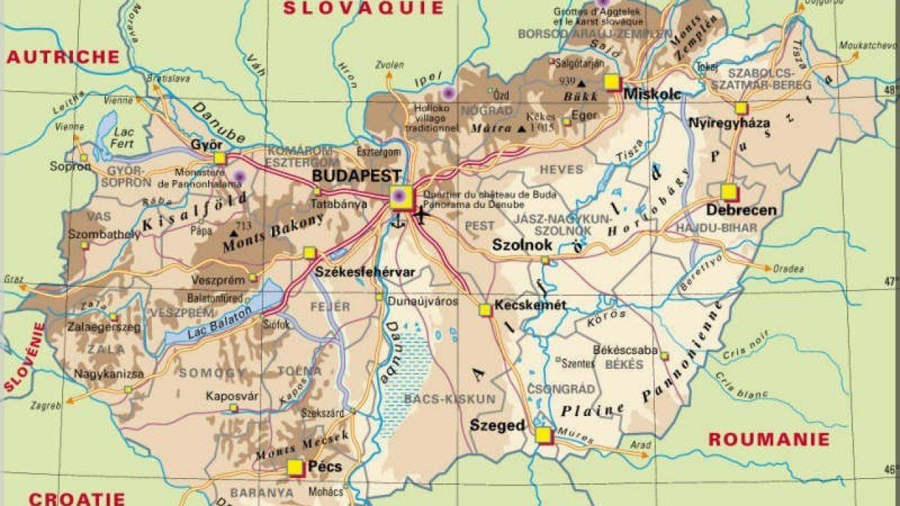 Carte Didentite Hongrie.Quelles Visites Et Excursions Depuis Budapest