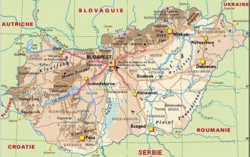 Hongrie Carte