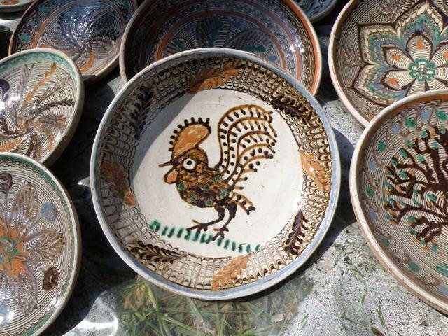 Horezu céramique et coq