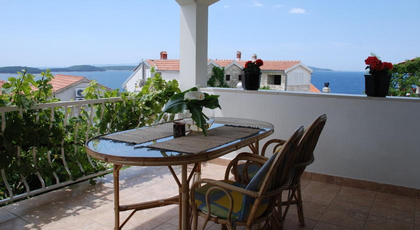 Hvar Appartement Viskovic terrasse