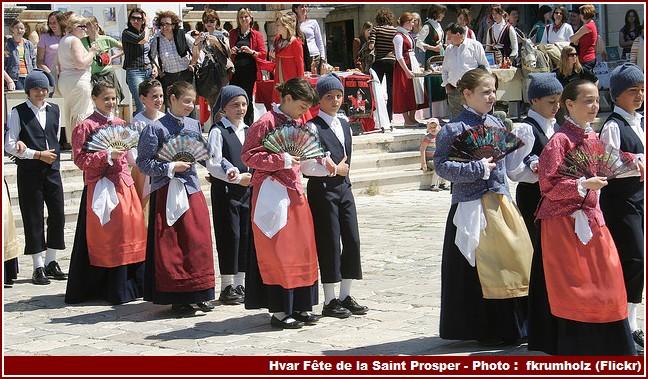Hvar fete populaire saint prosper