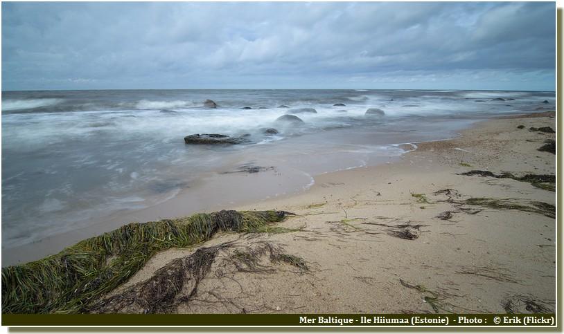 Ile Hiiumaa Mer baltique