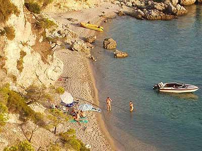 Ile de Pasman dans l'archipel de Zadar