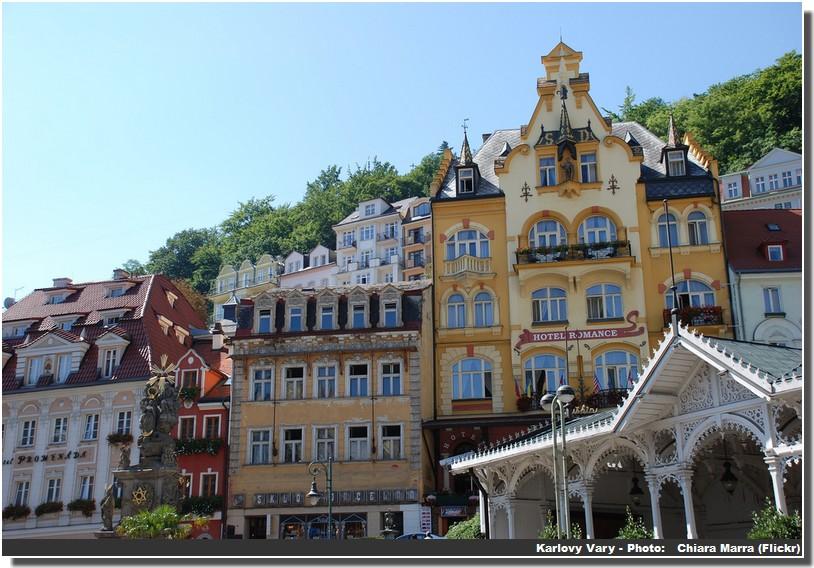 Karlovy Vary centre historique