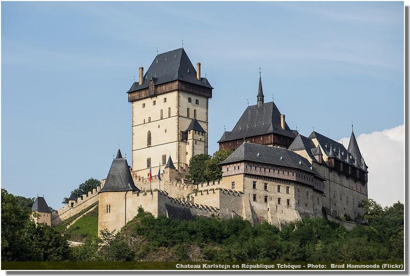 Karlstejn chateau de Boheme