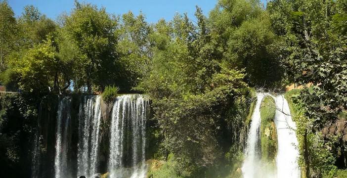 Kursunlu parc des chutes d'Antalya