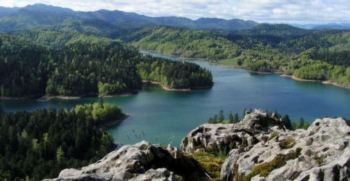 Lac Lokve en Croatie