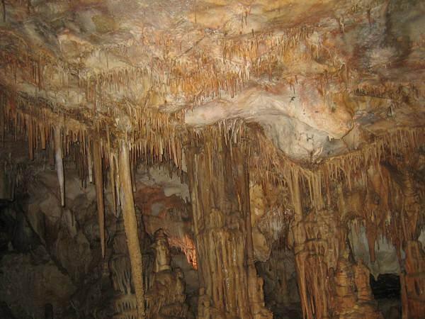 Lehman Caves concrétions calcaires