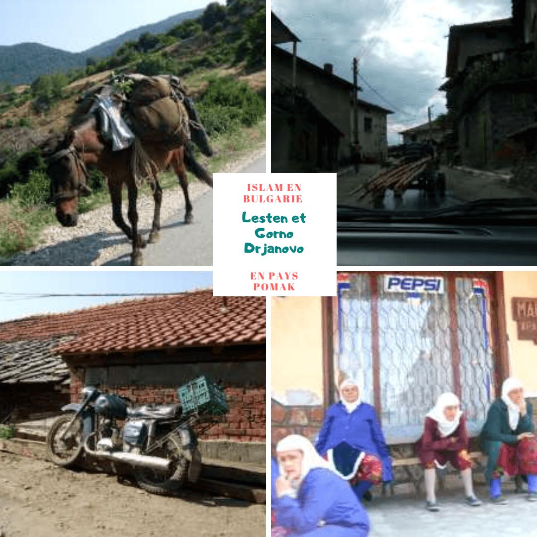 Lesten et village musulman de Gorno Drjanovo