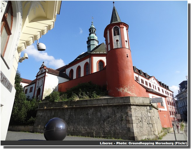 Liberec centre historique