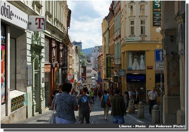 Liberec commerces