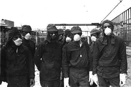 Liquidateurs à Tchernobyl