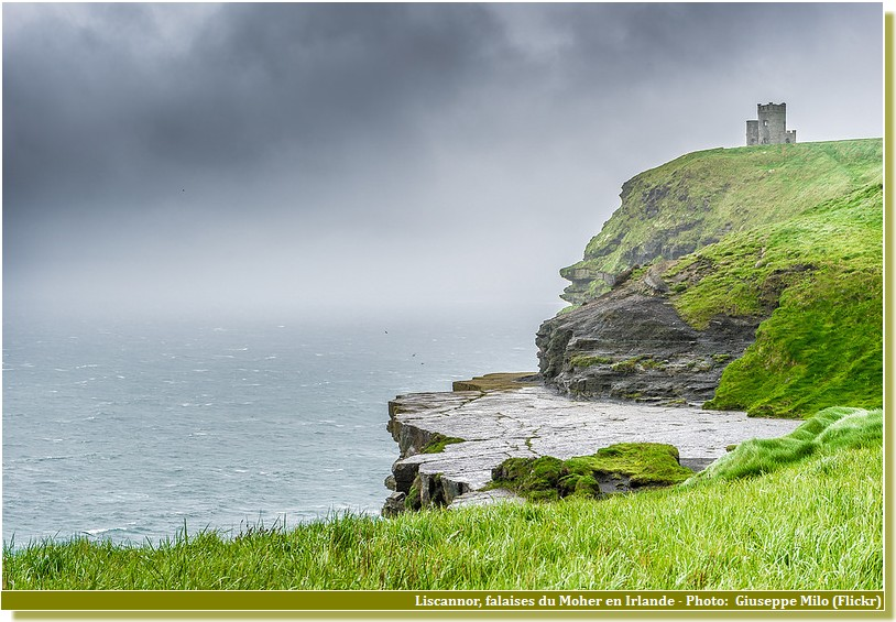 Liscannor Falaises Moher Irlande