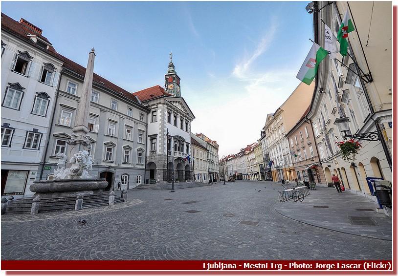 Ljubljana Mestni Trg