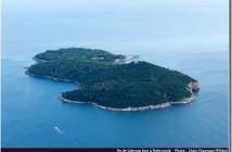 Lokrum ile croate face a Dubrovnik