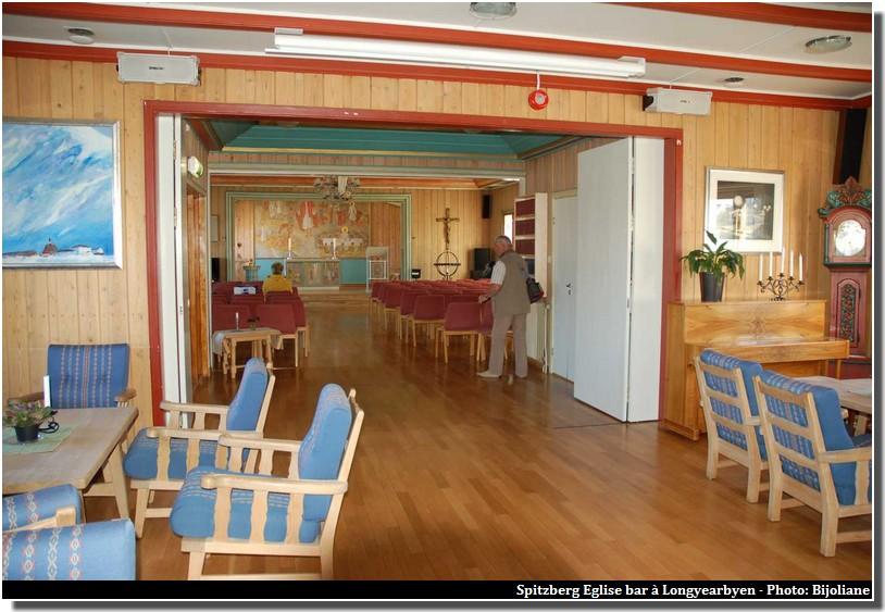 Longyearbyen eglise bar