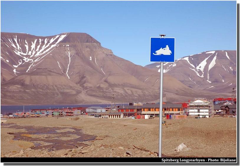 Longyearbyen motoneige spitzberg