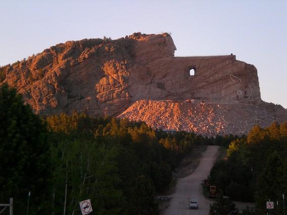 Memorial sioux Crazy Horse