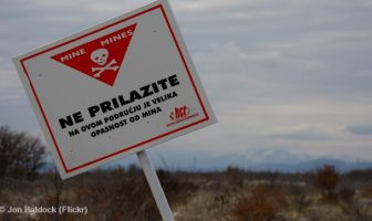 mines antipersonnel en croatie
