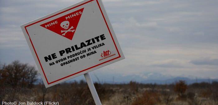 mines antipersonnel en croatie