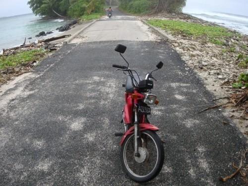 Mobylette à Tuvalu, 2008